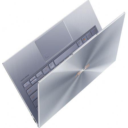 """Laptop ultraportabil ASUS UX392FA-AB002R cu procesor Intel® Core™ i7-8565U pana la 4.6 Ghz, 13.9"""", Full HD, 16GB, 512GB SSD M.2, Intel UHD Graphics 620, Windows 10 Pro, Utopia Blue 10"""