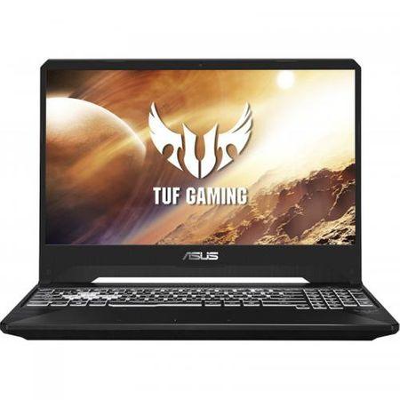 "Laptop Gaming ASUS TUF Gaming FX505DV-AL004, 15.6"" FHD, AMD Ryzen 7 3750H (4M+2M Cache, up to 4 GHz, 4 CORE), NVIDIA GeForce GTX 2060 6GB GDDR6, 8GB DDR4, SSD 512GB M.2 PCIE NVME, NO ODD, fara OS 0"