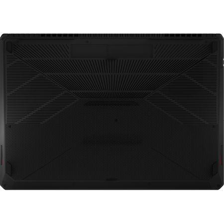 "Laptop Gaming ASUS TUF FX705GE-EW084cu procesor Intel® Core™ i7-8750H pana la 4.10 GHz, Coffee Lake, 17.3"", Full HD, 8GB, 1TB Hybrid FireCuda, NVIDIA GeForce GTX 1050 Ti 4GB, Free DOS, Gun Metal 4"
