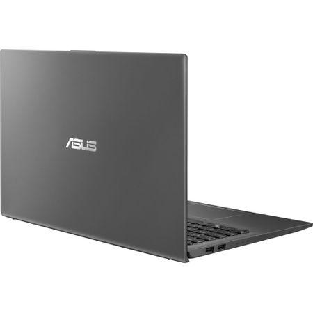 "Laptop ASUS VivoBook 15 X512UA-BQ270 cu procesor Intel® Core™ i3-8130U pana la 3.40 GHz, Kaby Lake, 15.6"", Full HD, 8GB, 256GB SSD, Intel® UHD Graphics 620, Free DOS, Grey 12"