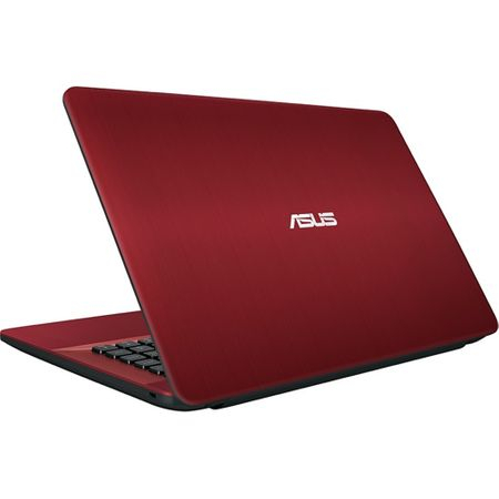 "Laptop ASUS X541NA-GO009 cu procesor Intel® Celeron® N3350 pana la 2.40 GHz, 15.6"", 4GB, 500GB, Intel® HD Graphics 500, Endless OS, Red 1"