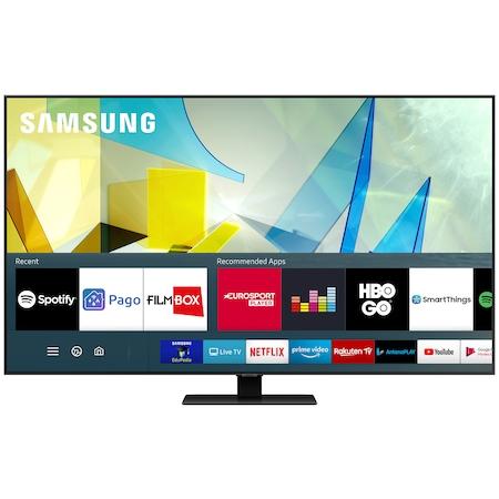 Televizor Samsung 75Q80T, 189 cm, Smart, 4K Ultra HD, QLED, Clasa G [0]