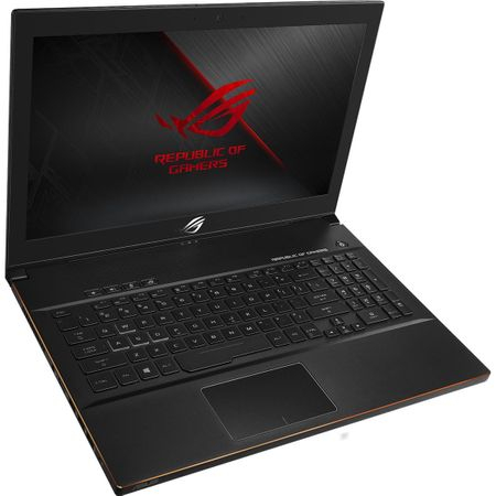 "Laptop Gaming ASUS ROG New ZEPHYRUS M GM501GS-EI003R cu procesor Intel® Core™ i7-8750H pana la 4.10 GHz, Coffee Lake, 15.6"", Full HD, IPS, 144Hz, 16GB, 1TB + 256GB SSD, NVIDIA GeForce GTX 1070 8GB, Microsoft Windows 10 Pro, Black 9"