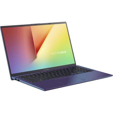 "Laptop ASUS X512FA-EJ991 cu procesor Intel® Core™ i3-8145U pana la 3.9 GHz, 15.6"", Full HD, 4GB, 256GB SSD M.2, Intel UHD Graphics 620, Free DOS, PEACOCK BLUE 3"