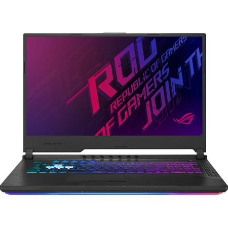 "Laptop Gaming ASUS ROG G731GT-AU004 cu procesor Intel® Core™ i7-9750H pana la 4.50 GHz, Coffee Lake, 17.3"", Full HD IPS, 8GB, 512GB SSD M.2, NVIDIA GeForce GTX 1650 4GB, Free DOS, Black 0"