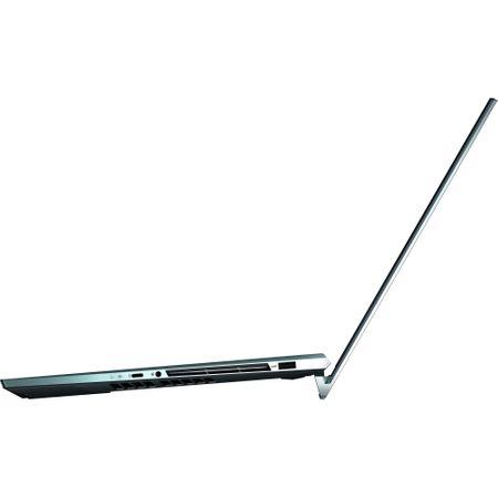 "Laptop ultraportabil Asus ZenBook Pro Duo UX581GV-H2004R cu procesor Intel® Core™ i7-9750H pana la 4.5 GHz, 15.6"", 4K, 16GB, 512GB SSD M.2, NVIDIA GeForce RTX 2060 6GB, Windows 10 Pro, Celestial Blue 2"
