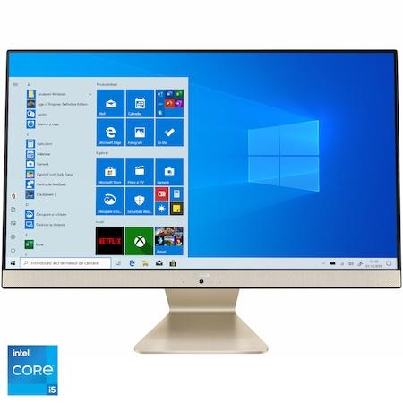 "Sistem All-in-One ASUS V241EAK-BA024R cu procesor Intel® Core™ i5-1135G7 pana la 4.20 GHz, Tiger Lake, 23.8"", Full HD, 16GB DDR4, 512GB SSD, Intel® Iris® Xe Graphics, Windows 10 Pro [0]"