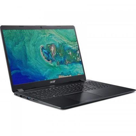 Laptop Acer Aspire 5 A515-54G, Intel Core i5-8265U, 15.6inch, RAM 8GB, SSD 512GB, nVidia GeForce MX250 2GB, Linux, Obsidian Black (NX.HDGEX.010) 1