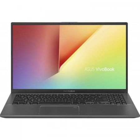 "Laptop ASUS VivoBook 15 X512FA-EJ1018, 15.6"" FHD, Intel Core i5-8265U (6M Cache, up to 3.90 GHz), Intel UHD Graphics 620, 8GB DDR4, SSD 512GB M.2 NVME, NO ODD, Slate Gray, FARA OS 0"