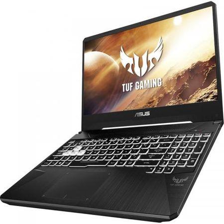"Laptop Gaming ASUS TUF Gaming FX505DV-AL004, 15.6"" FHD, AMD Ryzen 7 3750H (4M+2M Cache, up to 4 GHz, 4 CORE), NVIDIA GeForce GTX 2060 6GB GDDR6, 8GB DDR4, SSD 512GB M.2 PCIE NVME, NO ODD, fara OS 1"