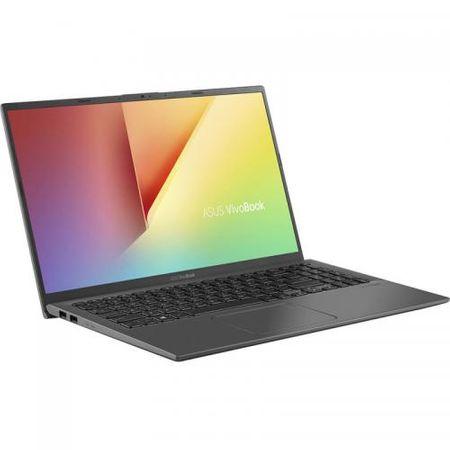"Laptop ASUS VivoBook 15 X512FA-EJ1018, 15.6"" FHD, Intel Core i5-8265U (6M Cache, up to 3.90 GHz), Intel UHD Graphics 620, 8GB DDR4, SSD 512GB M.2 NVME, NO ODD, Slate Gray, FARA OS 1"