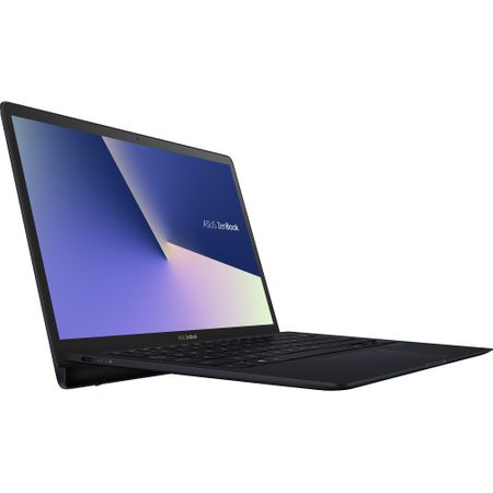 "Laptop ASUS ZenBook S UX391FA-AH010R cu procesor Intel® Core™ i7-8565U pana la 4.60 GHz, Whiskey Lake, 13.3"", Full HD, 16GB, 512GB SSD, Intel® UHD Graphics 620, Microsoft Windows 10 Pro, Deep Dive Blue 3"
