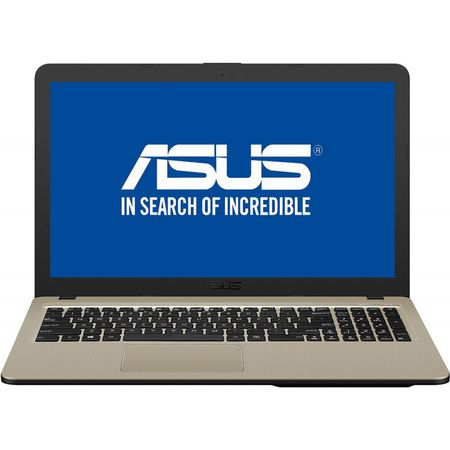 "Laptop ASUS X540UB-DM718 cu procesor Intel® Core™ i3-7020U 2.30 GHz, Kaby Lake, 15.6"", Full HD, 4GB, 256GB SSD, NVIDIA GeForce MX110 2GB, Endless OS, Chocolate Black 5"