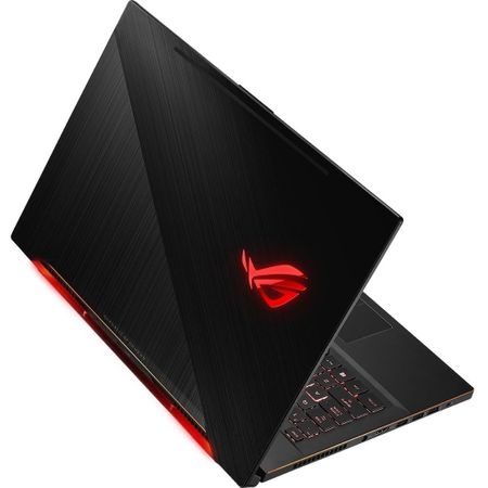 "Laptop Gaming ASUS ROG New ZEPHYRUS M GM501GS-EI003R cu procesor Intel® Core™ i7-8750H pana la 4.10 GHz, Coffee Lake, 15.6"", Full HD, IPS, 144Hz, 16GB, 1TB + 256GB SSD, NVIDIA GeForce GTX 1070 8GB, Microsoft Windows 10 Pro, Black 8"