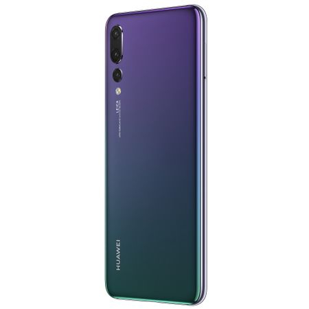 Telefon mobil Huawei P20 Pro, Dual SIM, 128GB, 6GB RAM, 4G, Twilight 3