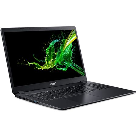 "Laptop Acer Aspire 3 A315-54K (NX.HEEEX.02F) cu procesor Intel® Core™ i3-8130U pana la 2.20GHz , 15.6"", Full HD , 4GB, 256GB SSD, Intel® UHD Graphics, Black 2"