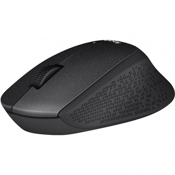 Mouse Logitech M330 Silent Plus, Wireless, Black 1