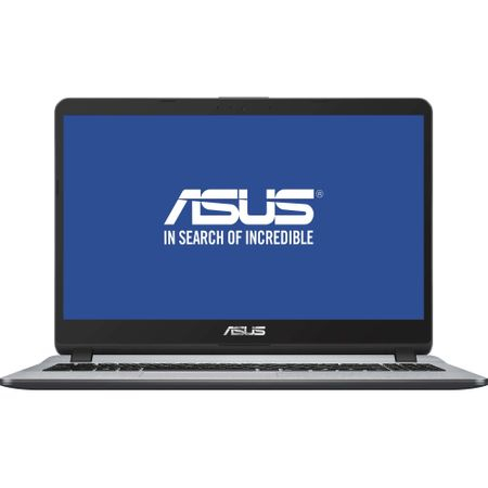 "Laptop ASUS X507UA-EJ1096 cu procesor Intel® Core™ i3-8130U pana la 3.40 GHz, Kaby Lake, 15.6"", Full HD, 4GB, 256GB SSD, Intel® UHD Graphics 620, Endless OS, Star Grey 0"