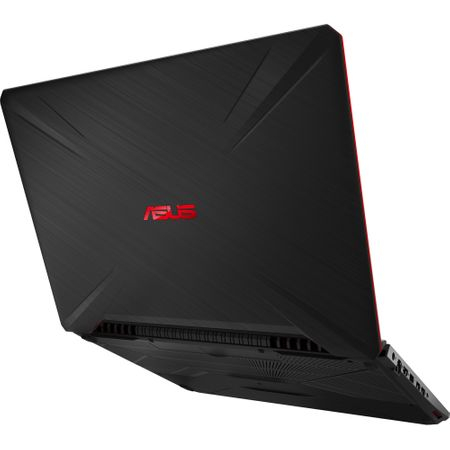 "Laptop Gaming ASUS TUF FX505GD-BQ125 cu procesor Intel® Core™ i7-8750H pana la 4.10 GHz, Coffee Lake, 15.6"", Full HD, IPS, 8GB, 1TB Hybrid FireCuda, NVIDIA GeForce GTX 1050 4GB, Free DOS, Black 11"