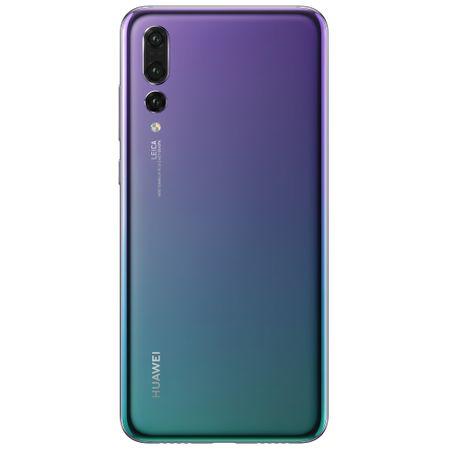 Telefon mobil Huawei P20 Pro, Dual SIM, 128GB, 6GB RAM, 4G, Twilight 1