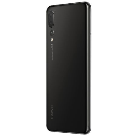 Telefon mobil Huawei P20 Pro, Dual SIM, 128GB, 6GB RAM, 4G, Black