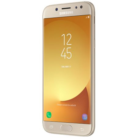 Telefon mobil Samsung Galaxy J5 (2017), Dual Sim, 16GB, 4G, Gold (SM-J530FZDDROM)