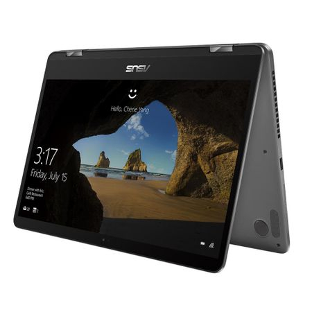 "Asus laptop 2 in 1 ASUS ZenBook Flip 14 UX461FA-E1035T cu procesor Intel® Core™ i5-8265U pana la 3.90 GHz, Whiskey Lake, 14"", Full HD, Touch, 8GB, 256GB SSD, Intel® UHD Graphics 620, Microsoft Windows 10, Slate Gray"