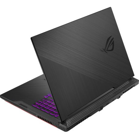 "Laptop Gaming ASUS ROG G731GT-AU004 cu procesor Intel® Core™ i7-9750H pana la 4.50 GHz, Coffee Lake, 17.3"", Full HD IPS, 8GB, 512GB SSD M.2, NVIDIA GeForce GTX 1650 4GB, Free DOS, Black 4"