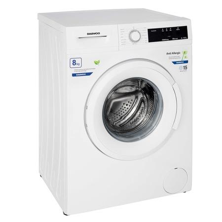 Masina de spalat rufe Daewoo DWD-FV5021-3, 8 kg, 1200 rpm, clasa energetica D, 15 programe, Alb [1]