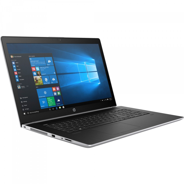 "Laptop HP ProBook 470 G5 cu procesor Intel® Core™ i5-8250U pana la 3.40 GHz, Kaby Lake R, 17.3"", Full HD, 8GB, 1TB, NVIDIA GeForce 930MX 2GB, FPR, Microsoft Windows 10 Pro, Silver, 2RR89EA 1"