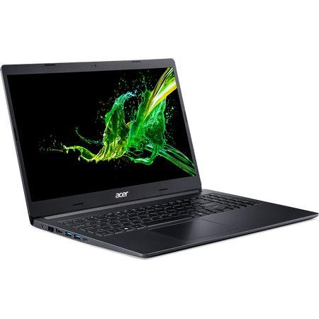 """Laptop Acer Aspire A315-53G-50L8 cu procesor Intel® Core™ i5-8250U pana la 3.40 GHz, Kaby Lake R, 15.6"""", Full HD, 8GB, 256GB SSD, NVIDIA GeForce MX130 2GB, Linux, Obsidian Black (NX.H1AEX.011) 2"""