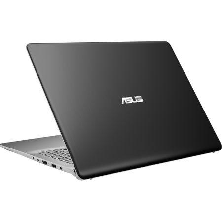 "Lapto ASUS VivoBook S15 S530UA-BQ211 cu procesor Intel® Core™ i7-8550U pana la 4.00 GHz, Kaby Lake R, 15.6"", Full HD, 8GB, 256GB SSD, Intel® UHD Graphics 620, Free DOS, Gun Metal 2"