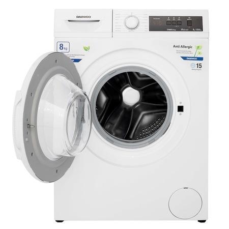 Masina de spalat rufe Daewoo DWD-FV5021-3, 8 kg, 1200 rpm, clasa energetica D, 15 programe, Alb [3]