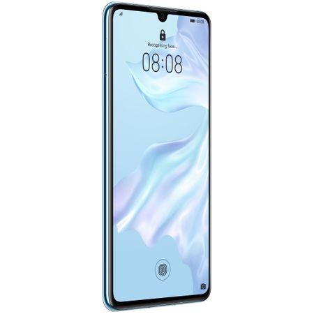 Telefon mobil Huawei P30, Dual SIM, 128GB, 6GB RAM, 4G, Breathing Crystal 2