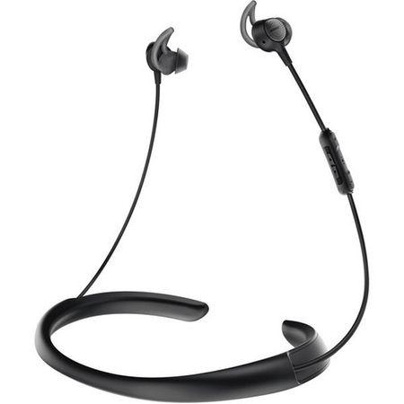 Casti in-ear BOSE QuietControl 30 cu microfon (quietcontrol30-bk), Wireless, Noise Canceling, Negre