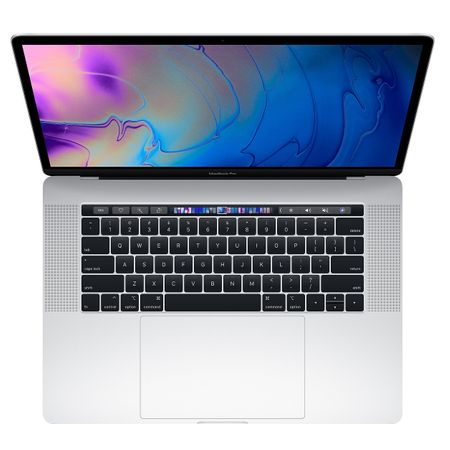 Laptop Apple MacBook Pro 15 (mr972ro/a) ecran Retina, Touch Bar, procesor Intel® Core™ i7 2.60 GHz, 16GB, 512GB SSD, Radeon Pro 560X W 4GB, macOS High Sierra, ROM KB, Silver