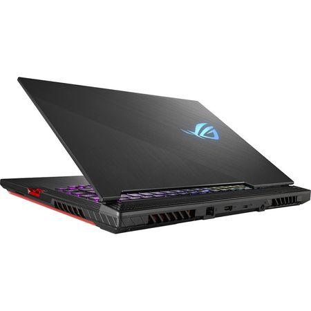 "Laptop Gaming ASUS ROG Strix G731GU-EV005 cu procesor Intel® Core™ i7-9750H pana la 4.50 GHz, Coffee Lake, 17.3"", Full HD, IPS, 144Hz, 3ms, 8GB, 512GB SSD, NVIDIA GeForce GTX 1660Ti 6GB, Free DOS, Black 1"