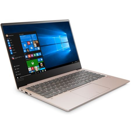 "Laptop Lenovo IdeaPad 720S-13IKB cu procesor Intel® Core™ i5-7200U 2.50 GHz, Kaby Lake, 13.3"", Full HD, IPS, 8GB, 256GB SSD M.2, Intel HD Graphics, Microsoft Windows 10 Home, Champagne 2"