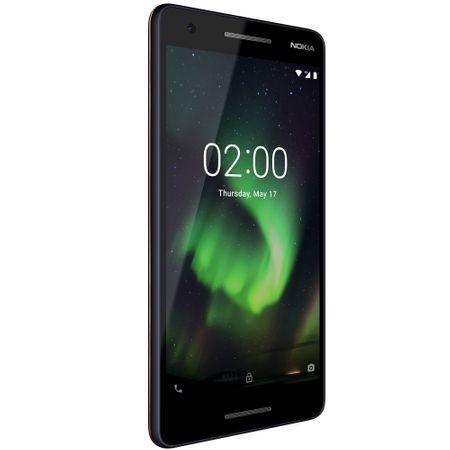 Telefon mobil Nokia 2.1 (2018), Dual SIM, 8GB, 4G, Blue Copper (11E2MX01B03)