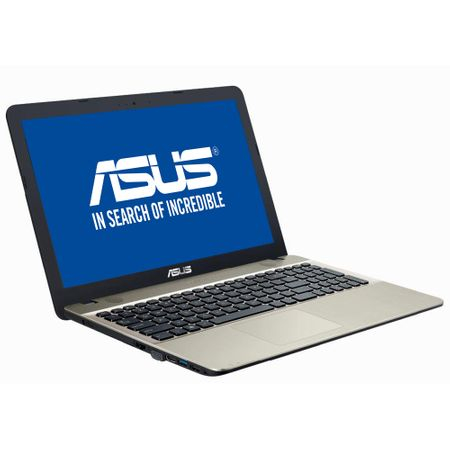 "Laptop ASUS X541UA-GO1376 cu procesor Intel® Core™ i3-7100U 2.40 GHz, Kaby Lake, 15.6"", 4GB, 500GB, Intel® HD Graphics 620, Endless OS, Chocolate Black 1"
