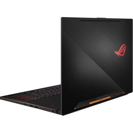 "Laptop Gaming ASUS ROG New ZEPHYRUS GX501GI-EI006T cu procesor Intel® Core™ i7-8750H pana la 4.10 GHz, Coffee Lake, 15.6"", Full HD, 144Hz, 3ms G-Sync, 24GB, 512GB SSD, NVIDIA GeForce GTX 1080 8GB Max-Q, Microsoft Windows 10, Black 4"