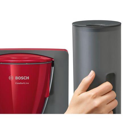 Cafetiera Bosch TKA6A044, 1.2 l, selector aroma, anti-picurare, oprire automata, program decalcifiere, Rosu 3
