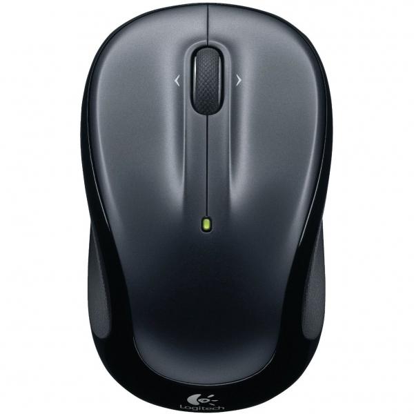 Mouse Logitech M325 Wireless, 1000 dpi, Negru/Gri 2