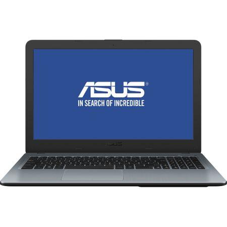 "Laptop ASUS X540MA cu procesor Intel® Celeron® N4000 pana la 2.6 GHz, 15.6"", Full HD, 4GB, 500GB HDD, Intel UHD Graphics 600, Endless OS, Silver Gradient (X540MA-GO358) 0"