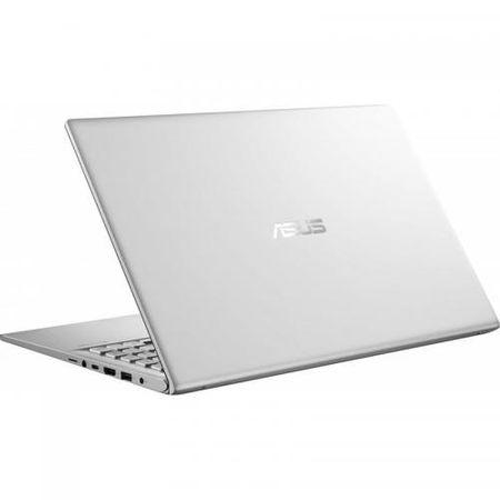 "Laptop ASUS VivoBook 15 X512FA-EJ1038, 15.6"" FHD, Intel Core i5-8265U (6M Cache, up to 3.90 GHz), Intel UHD Graphics 620, 8GB DDR4 2400Mhz (4 onboard+ 4 SODIMM), SSD 512GB M.2 NVME + slot liber SATA3, NO ODD, Silver, FARA OS 3"