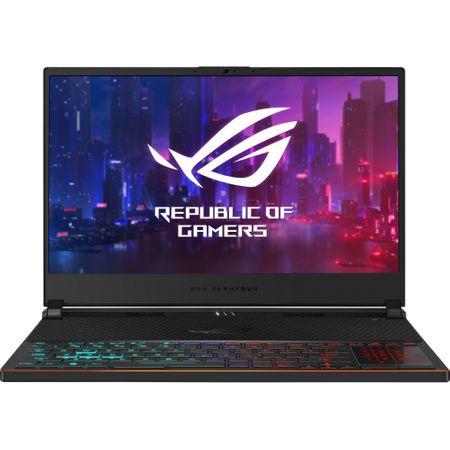 Laptop ASUS ROG Zephyrus S GX531GXR-AZ065T, Intel Core i7-9750H, 15.6inch, RAM 16GB, SSD 1TB, nVidia GeForce RTX 2080 8GB, Windows 10, Black 0