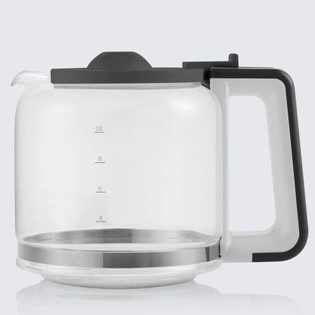 Cafetiera Beko Foodster FCM1321W, 1000W, capacitate 10 cesti, functie ajustare aroma, oprire automata, Alb 2