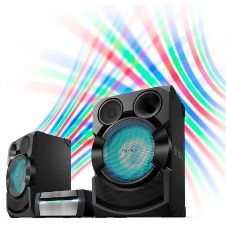 Resigilat - Sistem Audio Sony SHAKE-X70 High Power, Bluetooth, NFC, Party music 1
