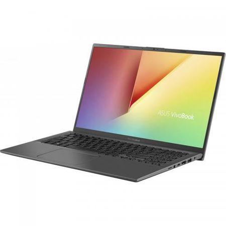 "Laptop ASUS VivoBook 15 X512FA-EJ1018, 15.6"" FHD, Intel Core i5-8265U (6M Cache, up to 3.90 GHz), Intel UHD Graphics 620, 8GB DDR4, SSD 512GB M.2 NVME, NO ODD, Slate Gray, FARA OS 2"