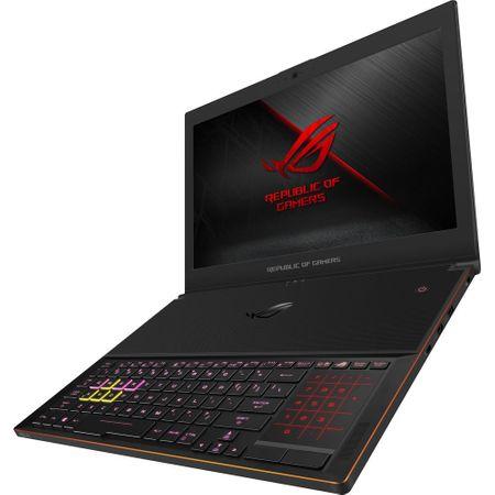 "Laptop Gaming ASUS ROG New ZEPHYRUS GX501GI-EI006T cu procesor Intel® Core™ i7-8750H pana la 4.10 GHz, Coffee Lake, 15.6"", Full HD, 144Hz, 3ms G-Sync, 24GB, 512GB SSD, NVIDIA GeForce GTX 1080 8GB Max-Q, Microsoft Windows 10, Black 5"
